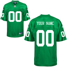 Philadelphia Eagles Customized Kelly Green Jersey