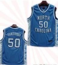 North Carolina Tar Heels #50 Tyler Hansbrough Baby Blue College Jersey