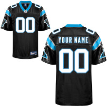 Reebok Carolina Panthers Customized Premier Team Color Jersey