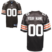 Reebok Cleveland Browns Customized Premier Team Color Jersey