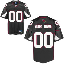 Reebok Arizona Cardinals Customized Premier Alternate Jersey