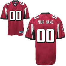 Reebok Atlanta Falcons Customized Premier Team Color Jersey