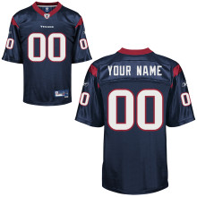 Reebok Houston Texans Customized Premier Team Color Jersey