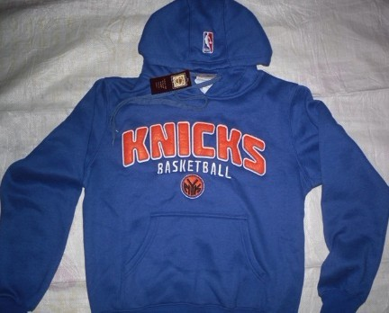 New York Knicks Blue Hoodies
