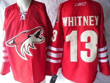 Phoenix Coyotes #13 Ray Whitney Red Jersey