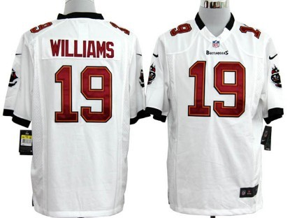 Nike Tampa Bay Buccaneers #19 Mike Williams White Game Jersey