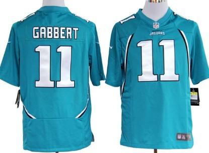 Nike Jacksonville Jaguars #11 Blaine Gabbert Green Game Jersey