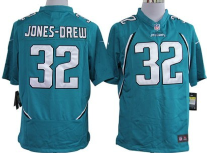 Nike Jacksonville Jaguars #32 Maurice Jones-Drew Green Game Jersey