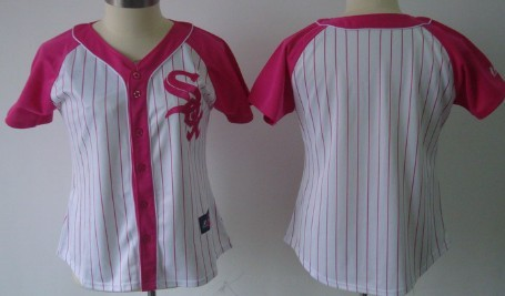 Chicago White Sox Blank 2012 Fashion Womens by Majestic Athletic Jersey
