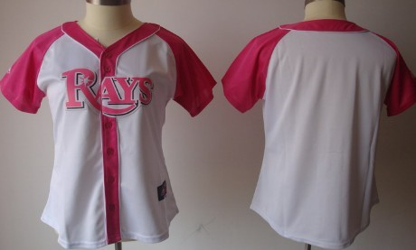 Tampa Bay Rays Blank 2012 Fashion Womens by Majestic Athletic Jersey