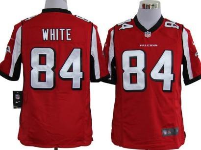 Nike Atlanta Falcons #84 Roddy White Red Game Jersey