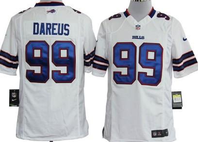 Nike Buffalo Bills #99 Marcell Dareus White Game Jersey