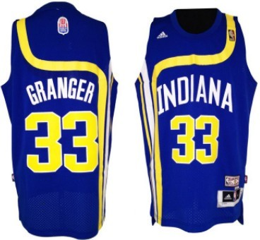 Indiana Pacers #33 Danny Granger ABA Hardwood Classic Swingman Blue Jersey