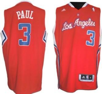 Los Angeles Clippers #3 Chris Paul Revolution 30 Swingman Red Jersey