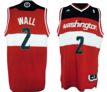 Washington Wizards #2 John Wall Revolution 30 Swingman Red Jersey
