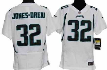 Nike Jacksonville Jaguars #32 Maurice Jones Drew White Game Kids Jersey