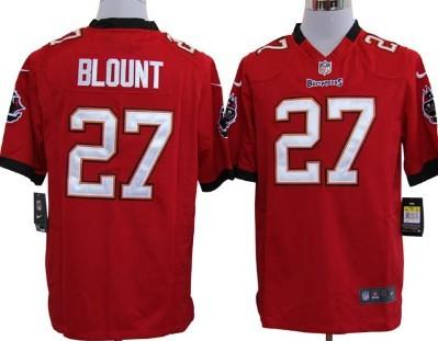 Nike Tampa Bay Buccaneers #27 Legarrette Blount Red Game Jersey
