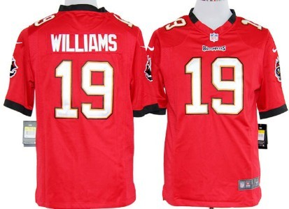 Nike Tampa Bay Buccaneers #19 Mike Williams Red Game Jersey