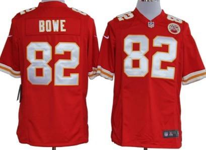 Nike Kansas City Chiefs #82 Dwayne Bowe Red Game Jersey