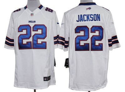 Nike Buffalo Bills #22 Fred Jackson White Game Jersey