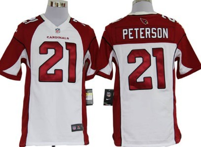 Nike Arizona Cardinals #21 Patrick Peterson White Game Jersey