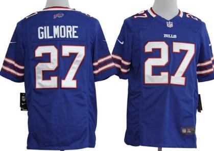 Nike Buffalo Bills #27 Stephon Gilmore Light Blue Game Jersey