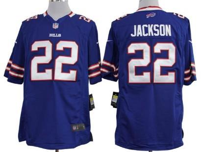 Nike Buffalo Bills #22 Fred Jackson Light Blue Game Jersey