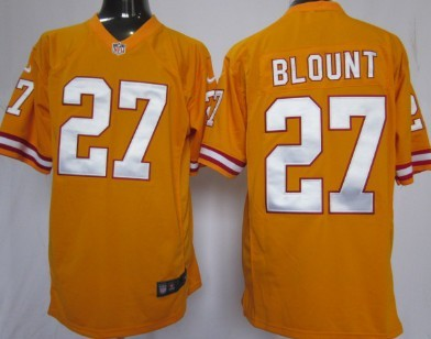 Nike Tampa Bay Buccaneers #27 Legarrette Blount Orange Game Jersey