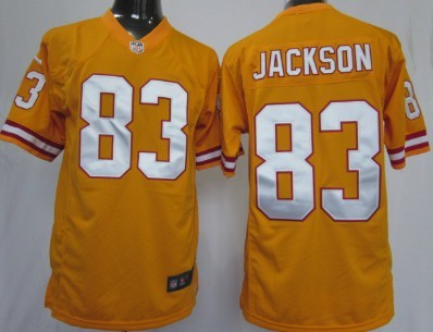 Nike Tampa Bay Buccaneers #83 Vincent Jackson Orange Game Jersey
