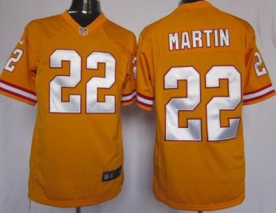 Nike Tampa Bay Buccaneers #22 Doug Martin Orange Game Jersey