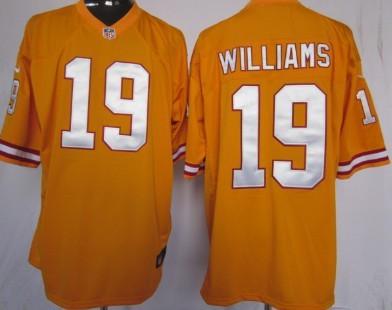 Nike Tampa Bay Buccaneers #19 Mike Williams Orange Game Jersey