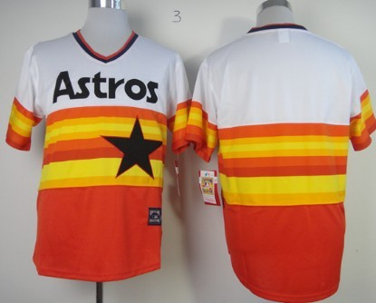 Kids Houston Astros Customized Rainbow Jersey