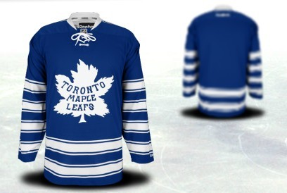 Youths Toronto Maple Leafs Customized 2014 Winter Classci Blue Jersey