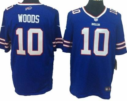 Nike Buffalo Bills #10 Robert Woods 2013 Light Blue Game Jersey