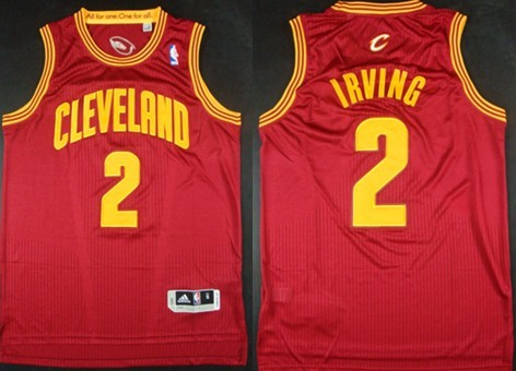Cleveland Cavaliers #2 Kyrie Irving Revolution 30 Authentic Red Jersey