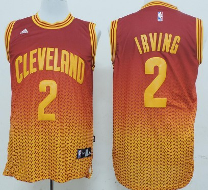 Cleveland Cavaliers #2 Kyrie Irving Revolution 30 Swingman 2013 Resonate Red Jersey
