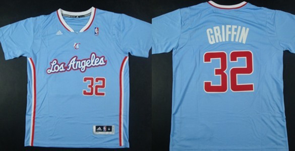 Los Angeles Clippers #32 Blake Griffin Revolution 30 Swingman 2013 Blue Jersey