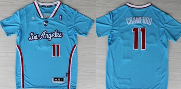 Los Angeles Clippers #11 Jamal Crawford Revolution 30 Swingman 2013 Blue Jersey