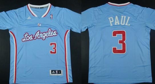 Los Angeles Clippers #3 Chris Paul Revolution 30 Swingman 2013 Blue Jersey