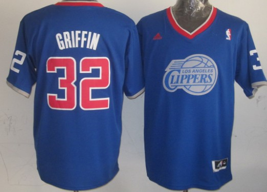 Los Angeles Clippers #32 Blake Griffin Revolution 30 Swingman 2013 Christmas Day Blue Jersey