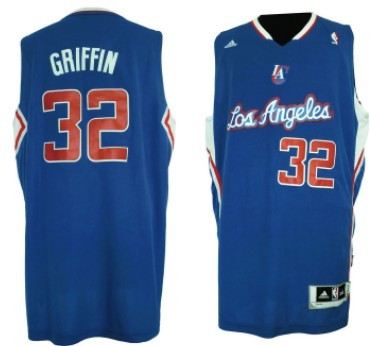 Los Angeles Clippers #32 Blake Griffin Revolution 30 Swingman Blue Jersey