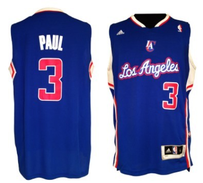 Los Angeles Clippers #3 Chris Paul Revolution 30 Swingman Blue Jersey
