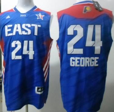 Los Angeles Lakers #24 Paul George 2013 All-Star Revolution 30 Swingman Blue Jersey