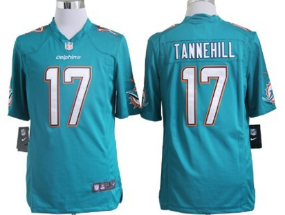 Nike Miami Dolphins #17 Ryan Tannehill 2013 Green Game Jersey