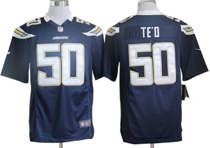Nike San Diego Chargers Manti Teo Navy Blue Game Jersey