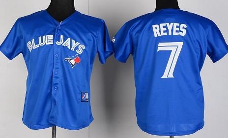 Toronto Blue Jays #7 Jose Reyes 2012 Blue Womens Jersey
