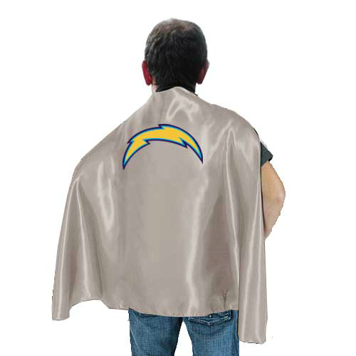 San Diego Charger L.Grey Hero Cape