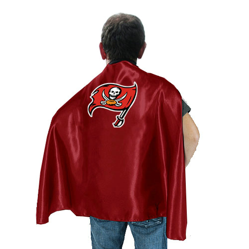 Tampa Bay Buccaneers Red Hero Cape