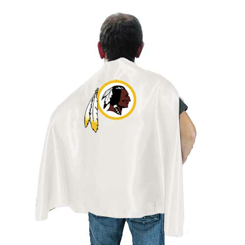 Washington Redskins White Hero Cape