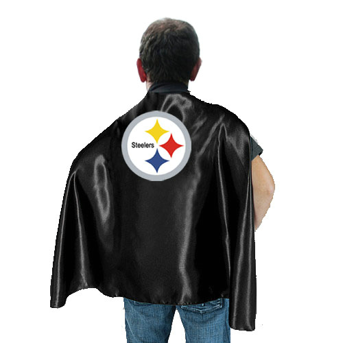 Pittsburgh Steelers Black Hero Cape